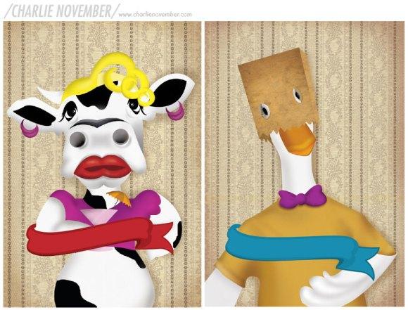 vaca-y-pato